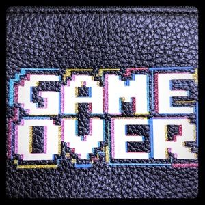 """Coach Pacman """"Game Over"""" Wristlet"""